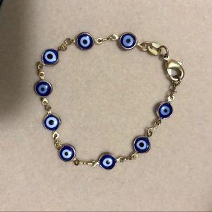 Evil Eye 🧿 Gold Bracelet
